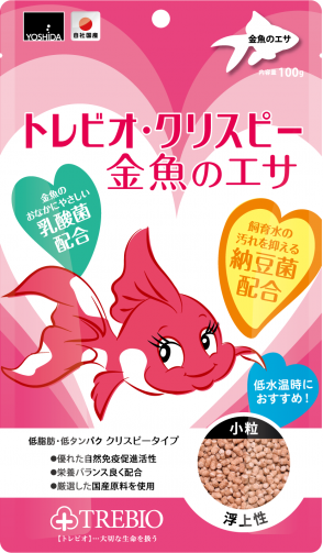 トレビオ ・クリスピー金魚のエサ 100g