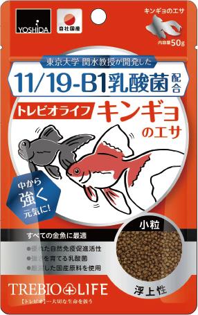 11/19-B1乳酸菌配合トレビオライフ キンギョのエサ